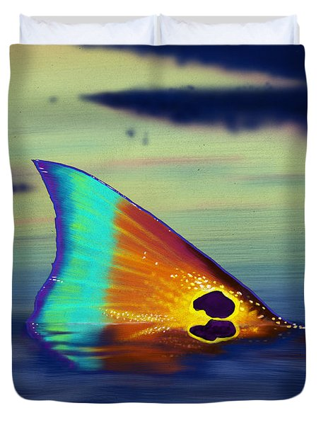 Morning Stroll Duvet Cover by Kevin Putman