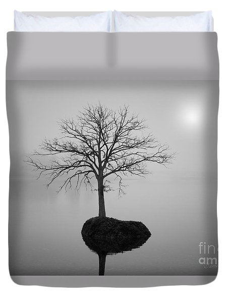 Morning Tranquility Duvet Cover by Dave Gordon