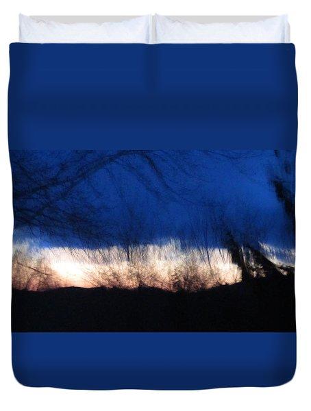 Mornings Love  Duvet Cover by Robert  Nacke