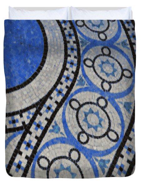 Mosaic Perspective 2 Duvet Cover by Tony Rubino