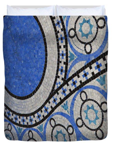 Mosaic Perspective Duvet Cover by Tony Rubino