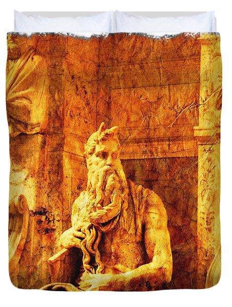 Moses Duvet Cover by Stefano Senise