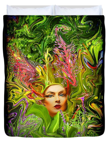 Mother Nature Duvet Cover by Chuck Staley