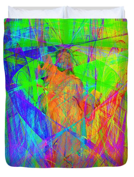 Mother of Exiles 20130618m120 Duvet Cover by Wingsdomain Art and Photography