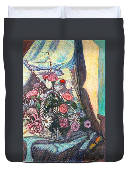Mothers Day Gift Duvet Cover by Kendall Kessler