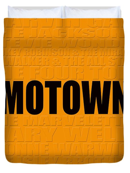 Motown Duvet Cover by Andrew Fare