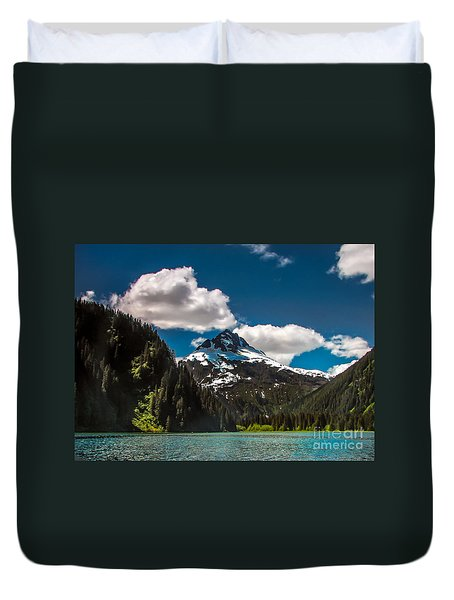 Mountain View Duvet Cover by Robert Bales
