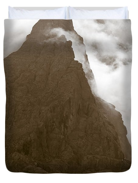 Mountainscape Duvet Cover by Frank Tschakert