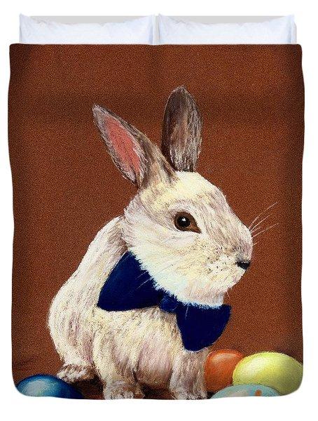 Mr. Rabbit Duvet Cover by Anastasiya Malakhova