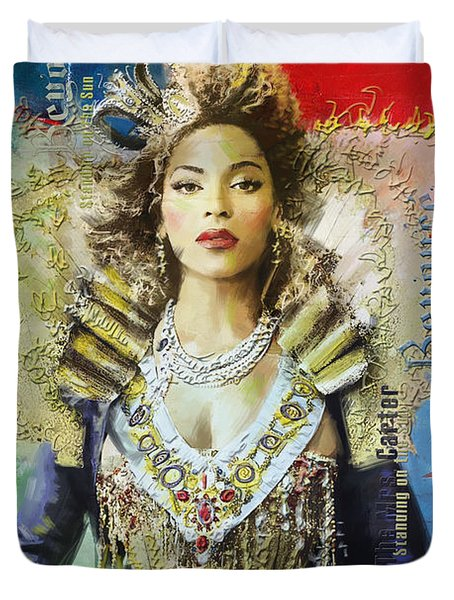 Mrs. Carter Show Art Poster - A Duvet Cover by Corporate Art Task Force