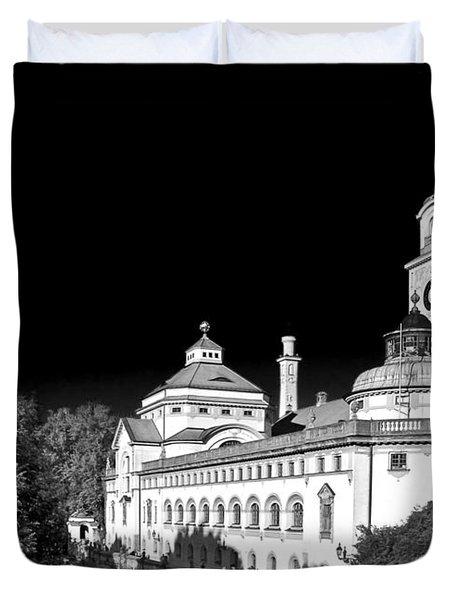 Mueller'sches Volksbad - Munich Germany Duvet Cover by Christine Till