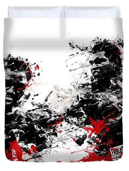 Muhammad Ali Duvet Cover by Bekim Art