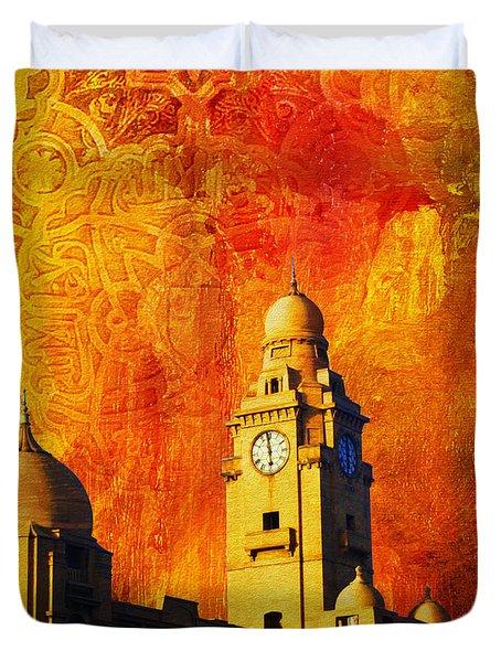 Municipal Corporation Karachi Duvet Cover by Catf