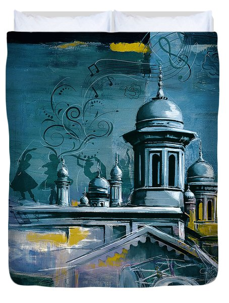 Music and heritage Duvet Cover by Catf