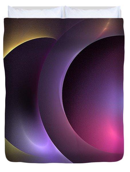Music of the Spheres Duvet Cover by Kim Sy Ok