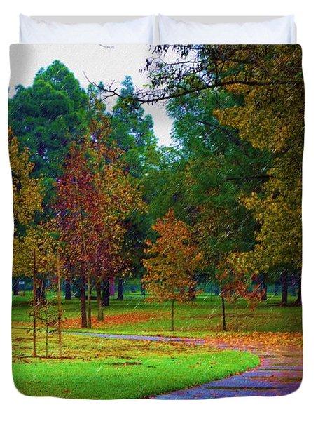My Autumn Duvet Cover by Heidi Smith