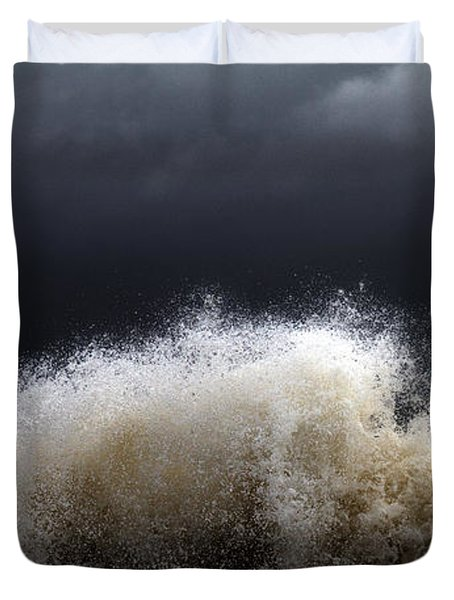 My Brighter Side Of Darkness Duvet Cover by Stelios Kleanthous