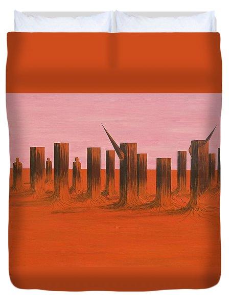 My Dreamtime 3 Duvet Cover by Tim Mullaney