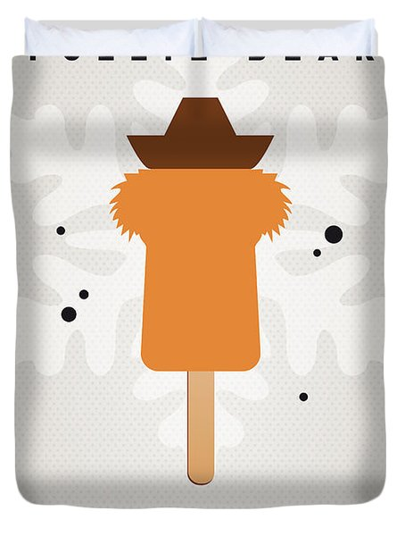 My Muppet Ice Pop - Fozzie Bear Duvet Cover by Chungkong Art