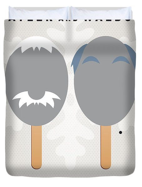 My MUPPET ICE POP - Statler and Waldorf Duvet Cover by Chungkong Art
