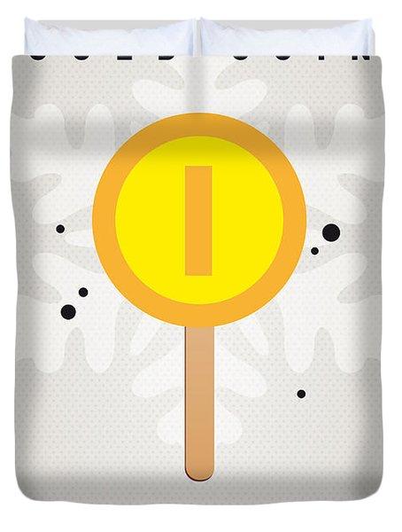 My Nintendo Ice Pop - Gold Coin Duvet Cover by Chungkong Art