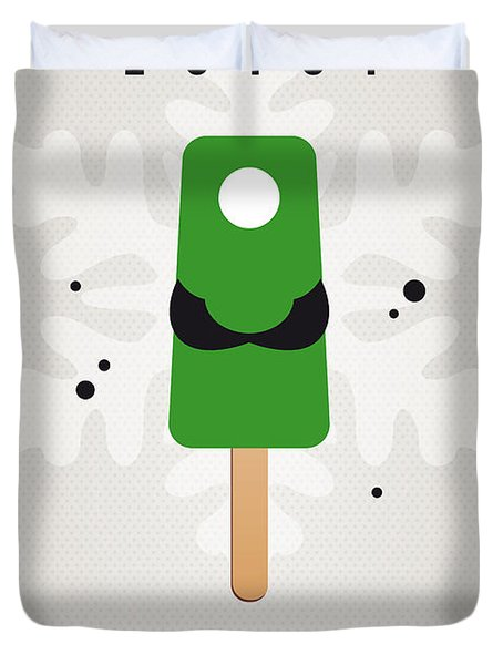 My Nintendo Ice Pop - Luigi Duvet Cover by Chungkong Art