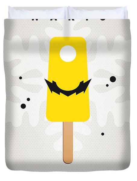 My NINTENDO ICE POP - Wario Duvet Cover by Chungkong Art