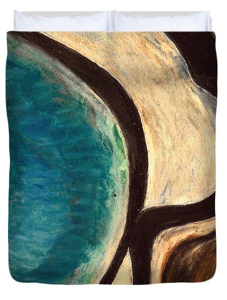 My Seascape I Duvet Cover by Carla Sa Fernandes