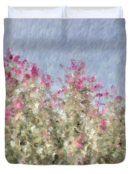 My Spring Garden - Impressionism Duvet Cover by Heidi Smith
