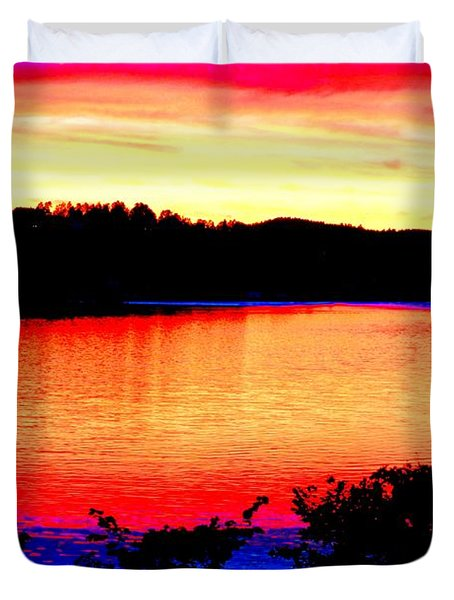 my sunset Duvet Cover by Hilde Widerberg