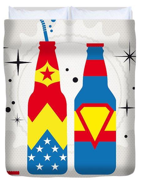 My Super Soda Pops No-06 Duvet Cover by Chungkong Art