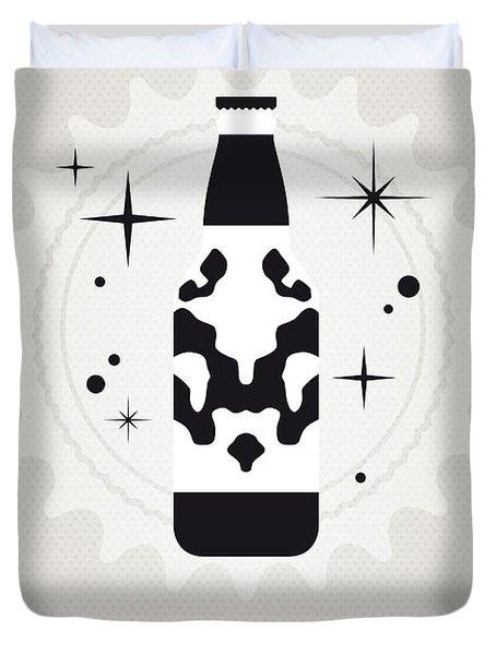 My Super Soda Pops No-12 Duvet Cover by Chungkong Art