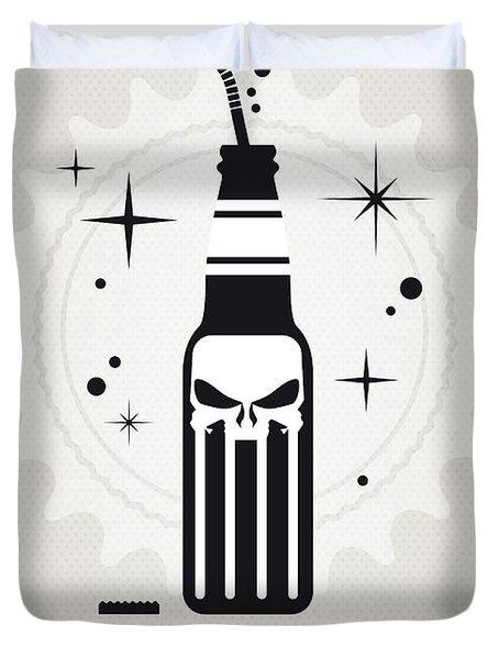 My Super Soda Pops No-15 Duvet Cover by Chungkong Art