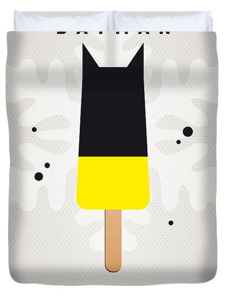 My SUPERHERO ICE POP - BATMAN Duvet Cover by Chungkong Art