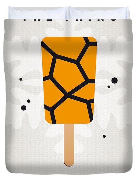 My Superhero Ice Pop - The Thing Duvet Cover by Chungkong Art