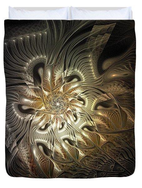 Mystical Metamorphosis Duvet Cover by Amanda Moore