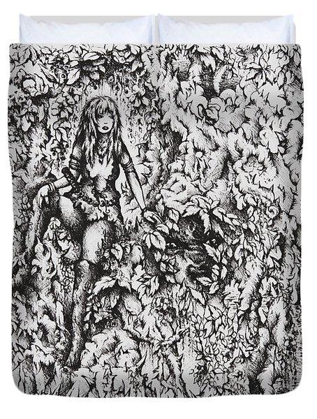 Nan Dungortheb Duvet Cover by Rachel Christine Nowicki