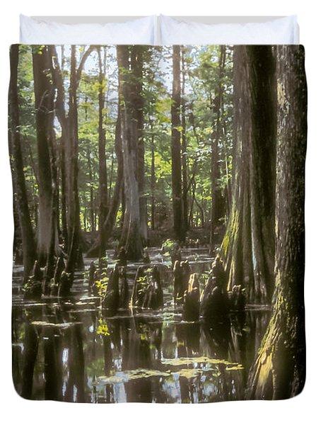 Natchez Trace Wetlands Duvet Cover by Bob Phillips