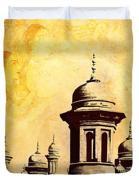 National College of Arts Lahore Duvet Cover by Catf
