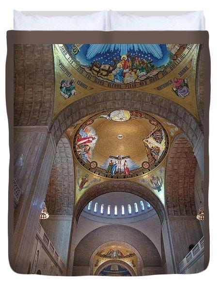 National Shrine Interior Duvet Cover by Barbara McDevitt