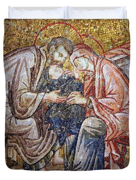 Nativity Duvet Cover by Stephen Stookey