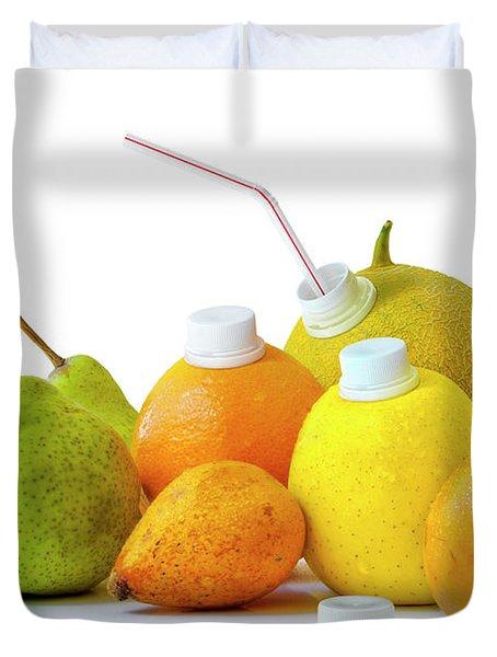 Natural Juice Duvet Cover by Carlos Caetano