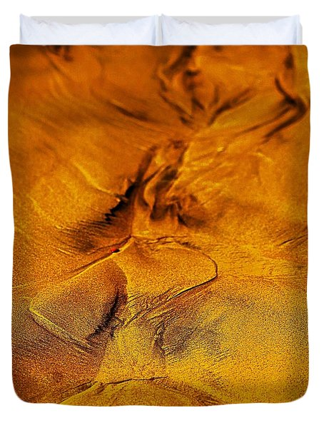 Natures Abstract Duvet Cover by Blair Stuart
