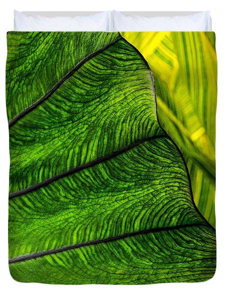 Nature's Artistry Duvet Cover by Jordan Blackstone