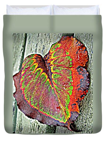 Nature's Glory Duvet Cover by Barbara McDevitt