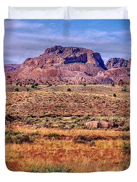 Navajo Nation Series 2 Duvet Cover by Bob and Nadine Johnston