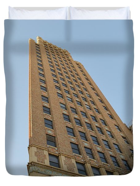Navarro St Illusion Duvet Cover by Shawn Marlow
