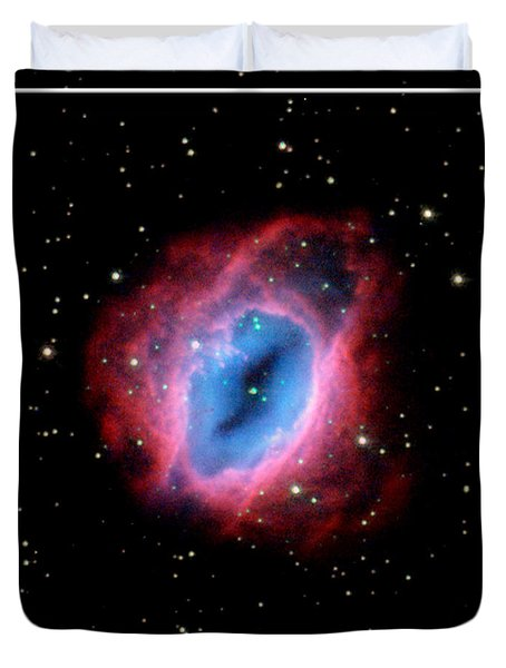 Nebula And Stars Nasa Duvet Cover by Rose Santuci-Sofranko