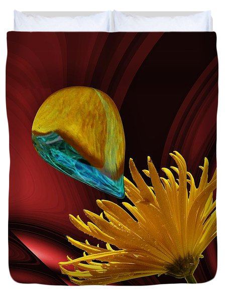 Nectar Of The Gods Duvet Cover by Barbara St Jean