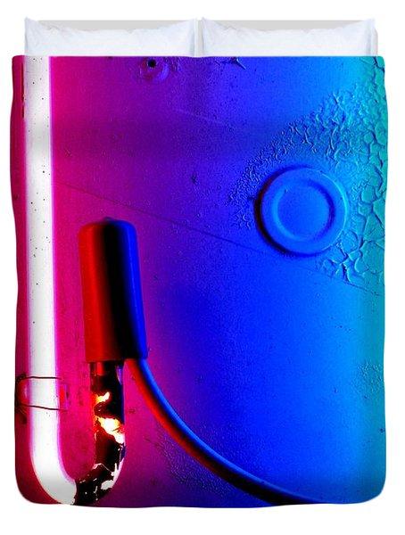 Neon Glow 2 Duvet Cover by Newel Hunter